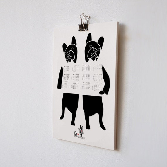 2013 French Bulldog Calendar