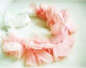 Pink Flowers Headband, Any Head Fit Accesory, Flower Decor Hair Accessory, Wedding hair piece,bridal headpiece, hairband, head accessory