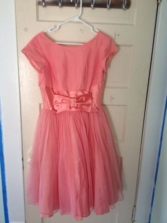 beautiful pink salmon party cocktail dress - halloween  - costume