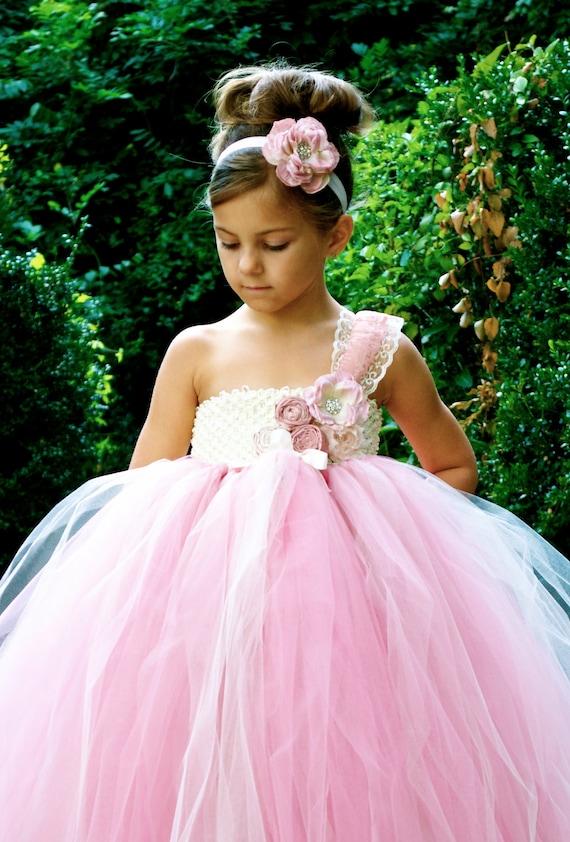 The London Fianc 233 Princess Style Flower Girl Dresses