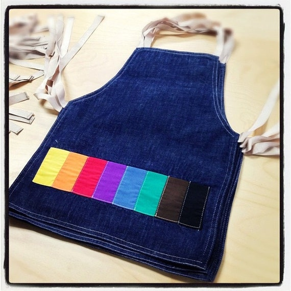 STILL Denim Apron for Kids