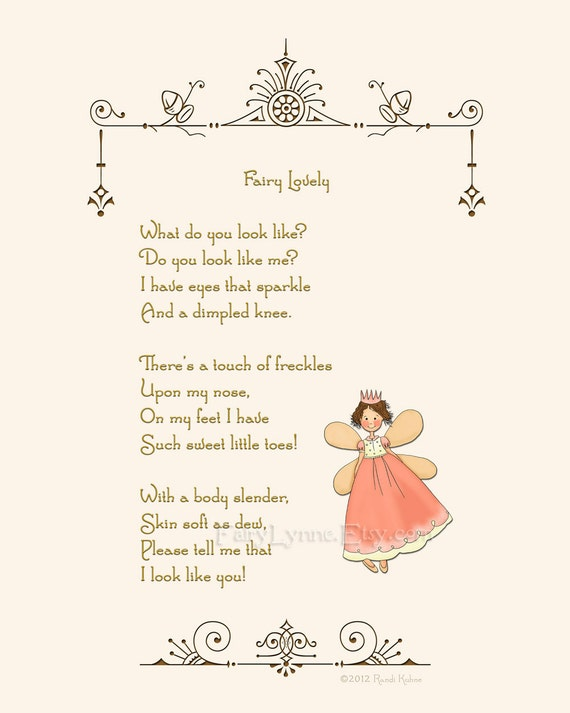 Fairy Lovely original fairy poem by Randi Kuhne