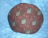 Primitive Prim Dome Tea Cozy Cover Saltbox Houses