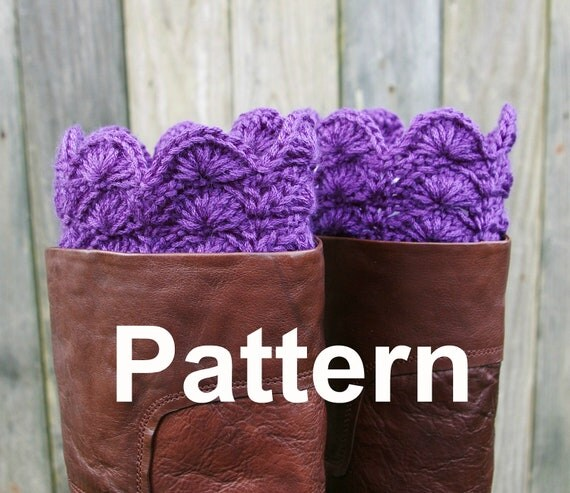 Crochet Pattern PDF Boot Toppers Boot Cuffs
