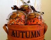HALLOWEEN Carnival Caramel Apple Gift Basket - Only One Available - DaisyandDelilah
