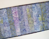 Batik Table Runner Stick Style - PicketFenceFabric