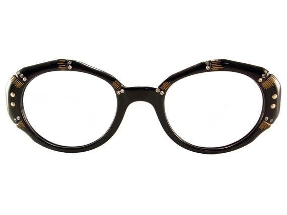 Vintage Frame Oval Rhinestones  Eyeglasses Sunglasses Glasses New Eyewear