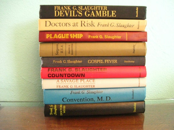 Book-Spine Poetry / Vintage Books / Book Lot / Lot Novels / Weird Titles /  sixcatsfunstuff
