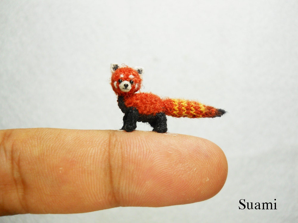 Amigurumi Panda Rojo : theknittycats tips & techniques: Amazing Micro Mini ...