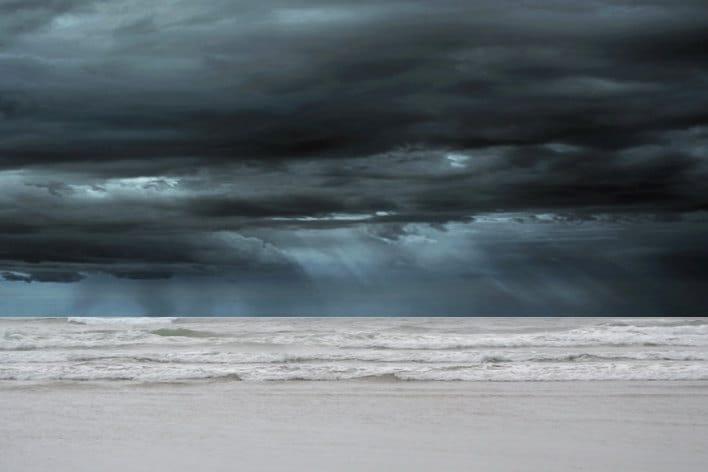 Beach And Ocean Storm: Immortal Unity: Ocean Storm Photography Print 11x14 Fine