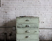 Industrial Scovill Green Set of Drawers, Number One - jerseyicecreamco