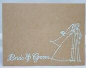 WEDDING CARD gift invitation thank you - thewoodenhinge
