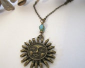 Sun Necklace/Pendant - 636designs
