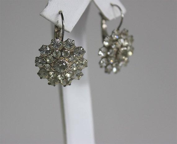 Rhinestone Vintage Earrings