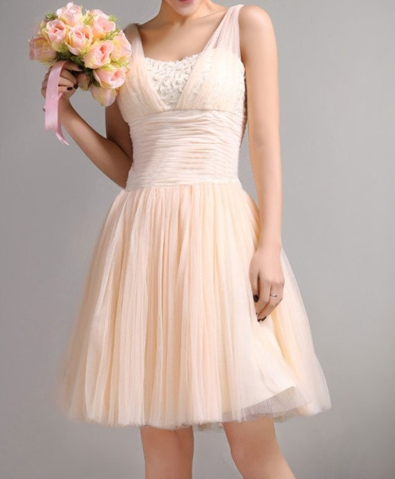 Custom Tulle Wedding dress S75