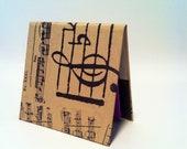 Handmade Notepad Holder - Music Lovers