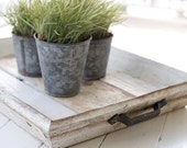 Shabby Chic Wooden Tray - BaytBoutique