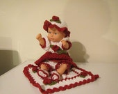 Baby Brianna Christmas or Holiday Doll Crochet