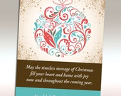 Printable Christmas Card (cmdg-103)
