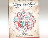 Printable Christmas Card (cmdg-101)