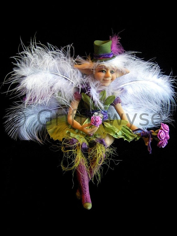 Fairy, Art Doll, Jointed Doll - Brigitte