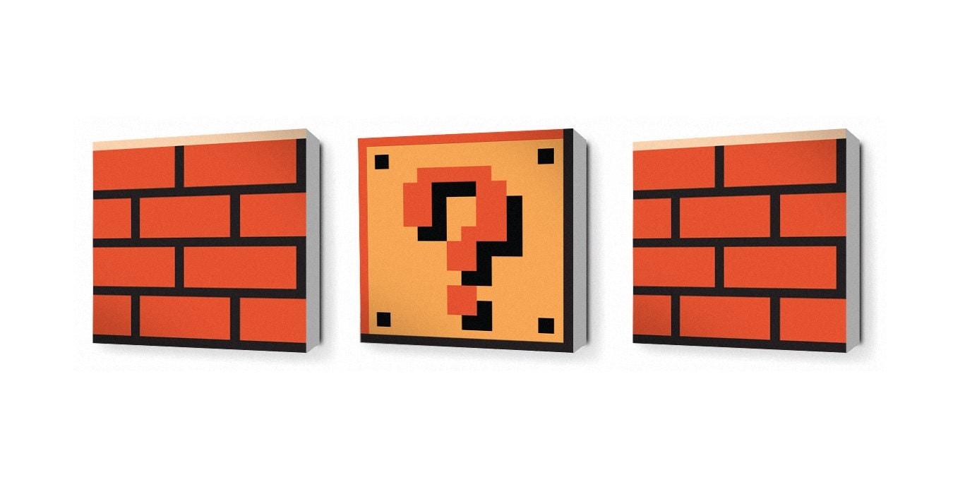 Super Mario Question Block Lamp by 8 Bit Lit  Gaming Boulevard