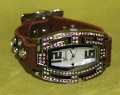 Leather Western Watch