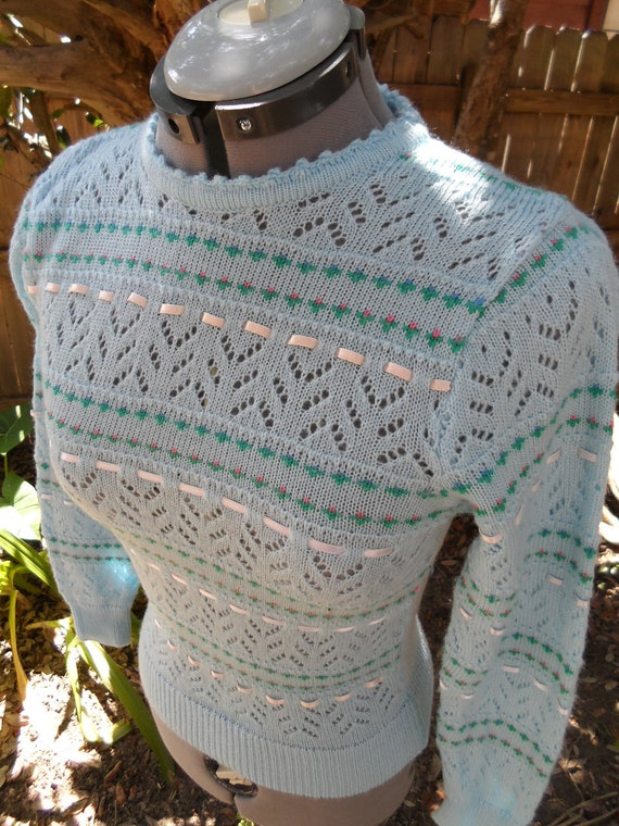 80s sweater Nearly Dead Threads Etsy