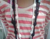 Bobble Crochet Necklace