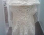 Crochet Circular Sweater Vest