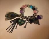 Peacock Envy bracelet