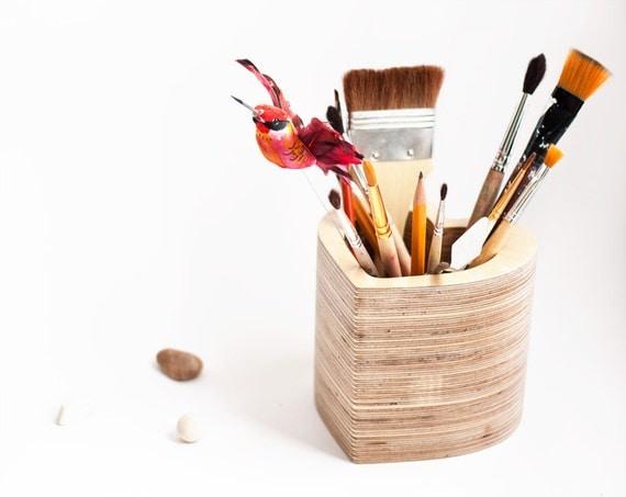 love,Organizer, holder, woodwork, pencil holder, wooden organizer, Office organizer, Desk Organizer, Desk Storage, Wood, Pen holder.