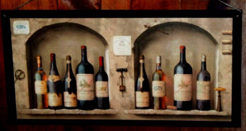 BIG Wine Lovers Kitchen Wall Decor Plaque by ozarkmtnhomestead