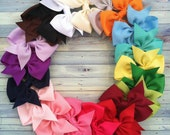 20 hair bows / 1.00 each / girls hair bows / bows / fit newborn infant toddler/ favors/ birthdays/ starter set