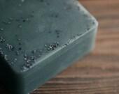 Woodland Soap - Moss, Evergreens, Galbanum - Handmade Glycerin Soap - FirebirdBathBody