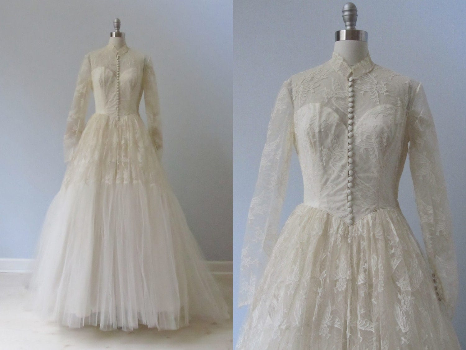 Vintage 1950s Wedding Dresses | Cheap Wedding Dresses