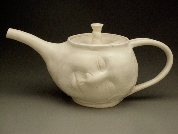 Dreaming Face Teapot