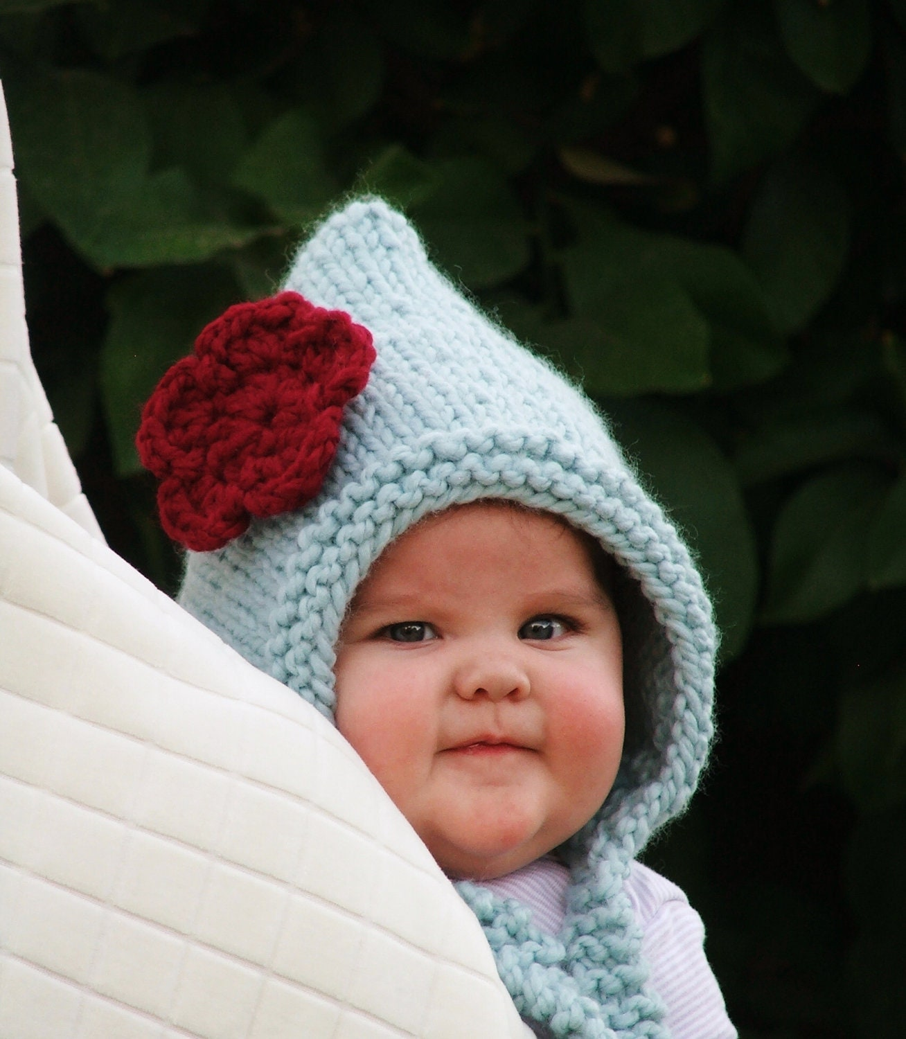 Knitting Pattern For Baby Elf Hat : Knitted Elf Hat