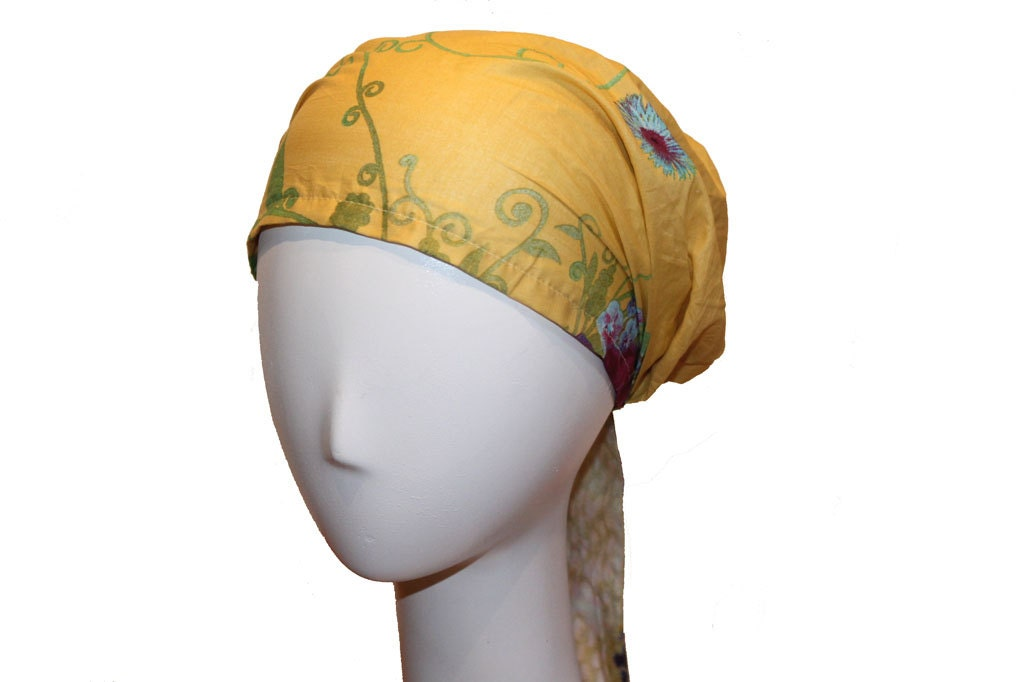 Fashion Head Scarf  Fashion Headscarf Wrap with Adjustable Tie Tie Fashion Head Scarves