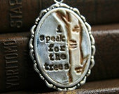 forest finery - i speak for the trees - limited edition - simple truths pendant - TesoriTrovati
