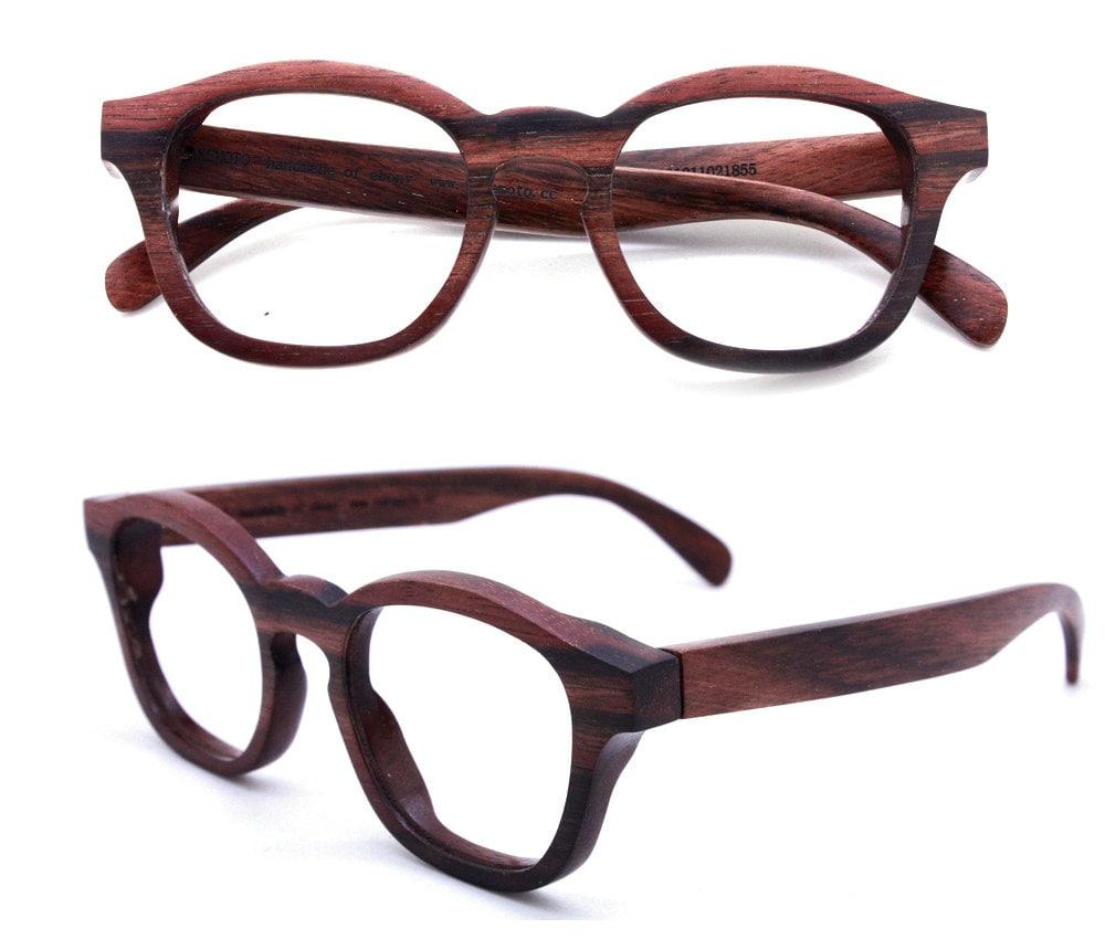 eyeglasses frames on eyeglasses and bamboo