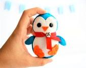 Baby Penguin , Eco-friendly Felt Christmas Ornament kids christmas  A137