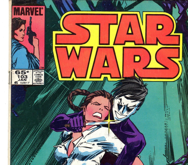 vintage star wars comics