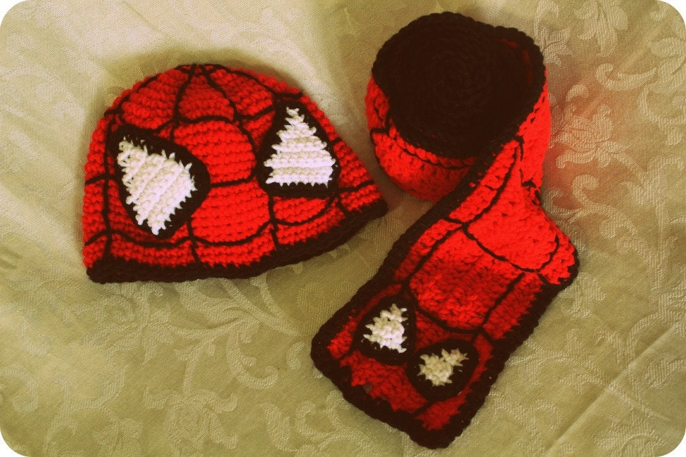 inspired hat scarf set for newborn to adult pdf crochet pattern  Crochet Scarves And Hats Patterns