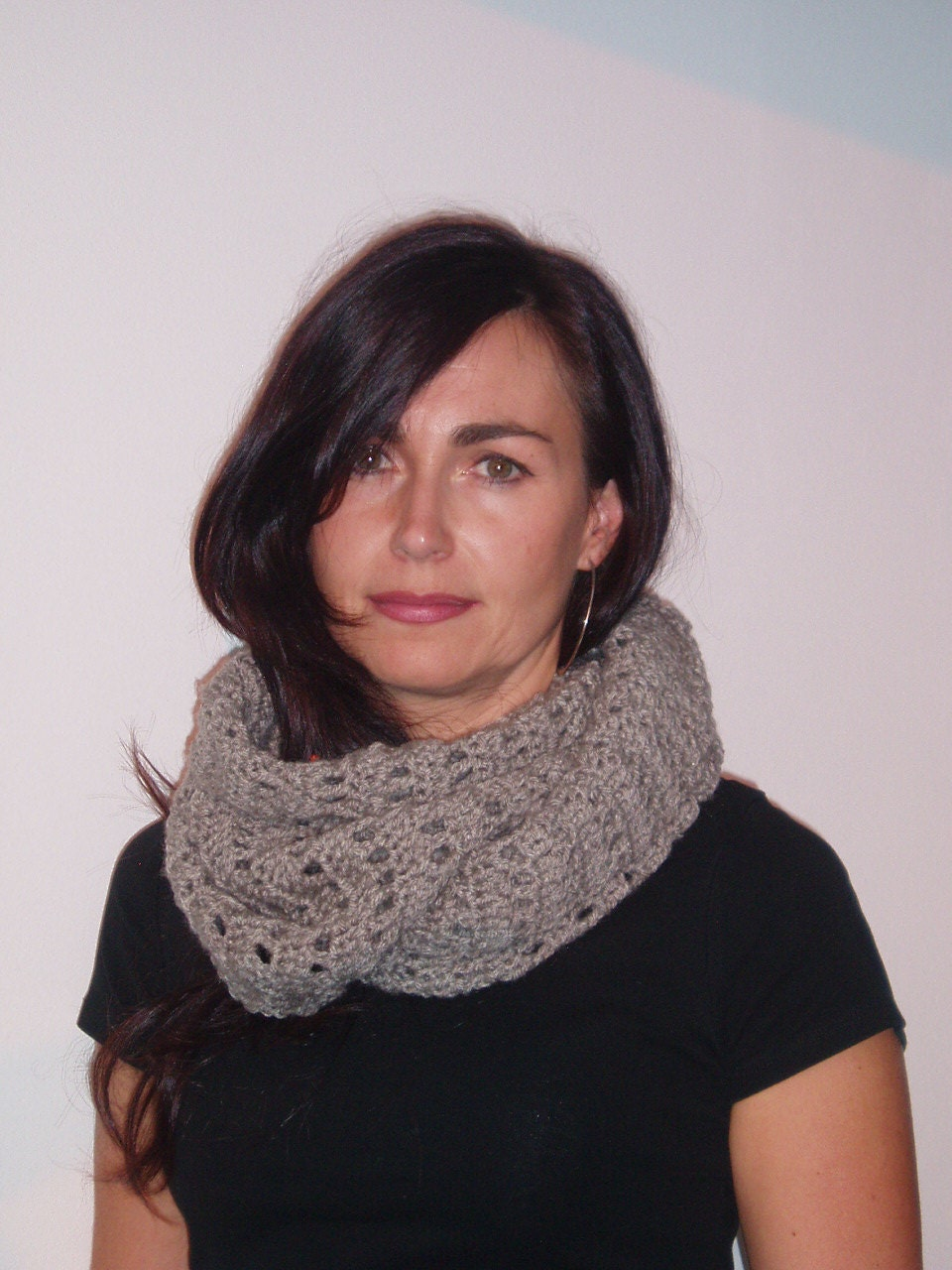 how to crochet a scarf for beginners step by step