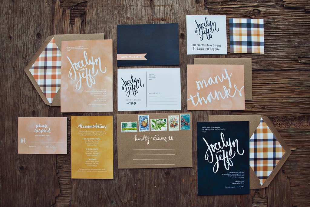 a checklist of what your invitation suite should have | wedding,