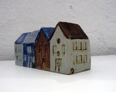 Fishermen's Cottages.Village Houses.Row Houses.OOAK.
