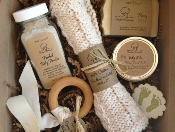 Baby Bath Gift Set All natural organic baby by TreefortNatural s