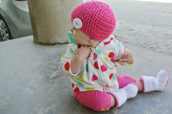 Infant Crochet Boots (FREE SHIPPING)