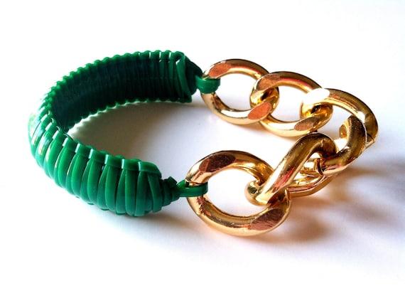 Wrist Soiree: Jada Bracelet (Emerald)